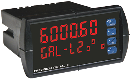 Precise Digital read-out