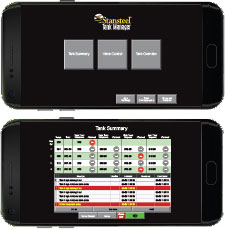 Stansteel tank manager app